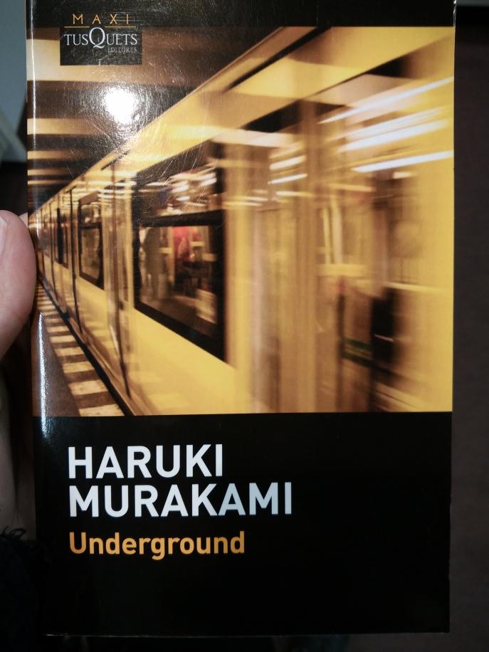 Underground, Haruki Murakami, literatura japonesa, Tokio, metro, atentado, entrvistas