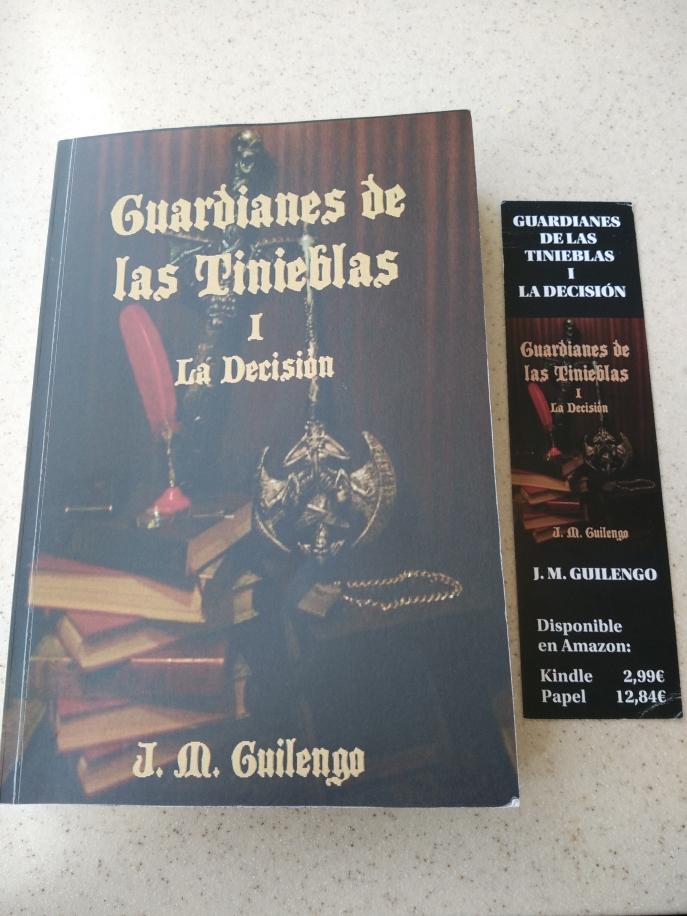 Guardianes de las tinieblas, J.M. Guilengo, fantasía juvenil, aventuras, misterio, autopublicación